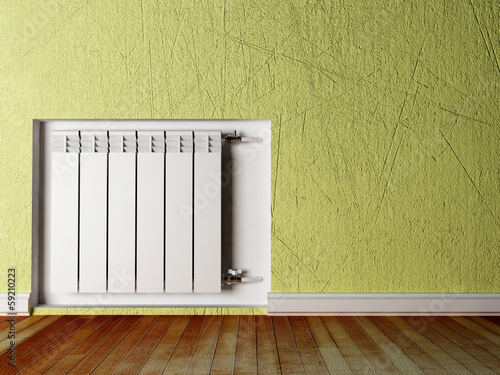 radiator in the room