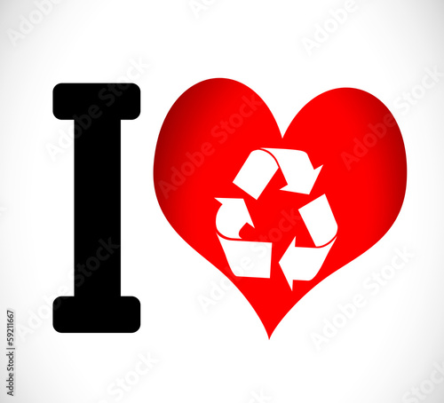 I Love to Recycle