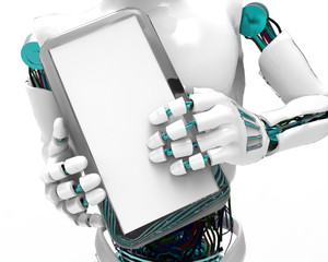 Humanoid Robotic Tablet