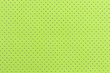Light Green Perforated Artificial Leather Background Texture