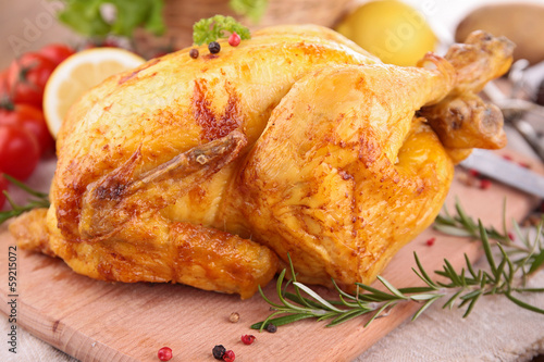 roasted chicken