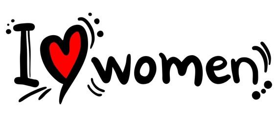 Women love