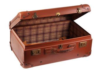 La valise ouverte