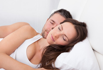 Couple Sleeping Together
