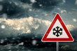 caution snow - 59217423