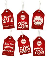 Vintage Retail Tags