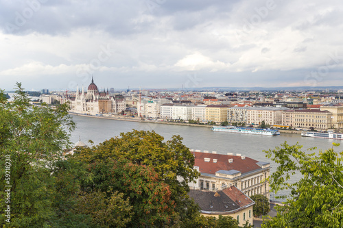 View of Pest, including the Banks of the Danube