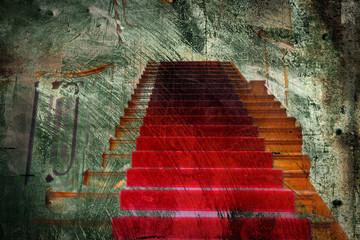 grunge red carpet