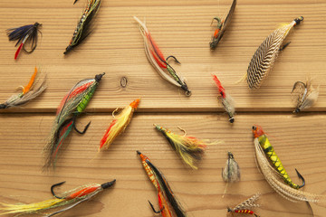 Salmon flies