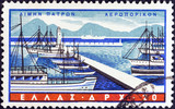 Patras port (Greece 1958)