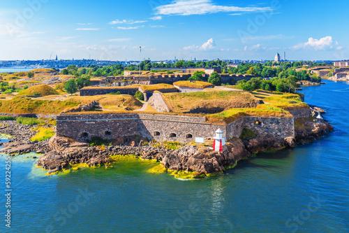 Suomenlinna (Sveaborg) Fortress in Helsinki, Finland - 59224255