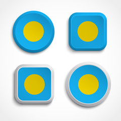 Palau flag icons