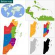 Belize map