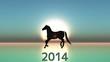 2014年号と馬