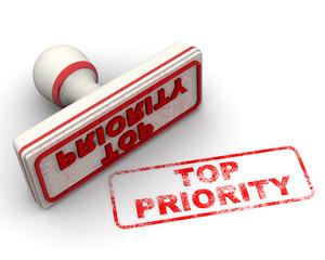 Top priority (высший приоритет). Печать и оттиск