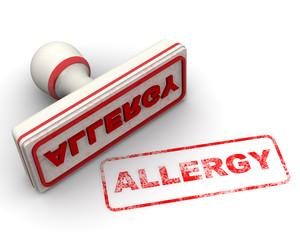 Allergy (аллергия). Печать и оттиск