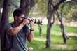 Leinwandbild Motiv Wild life professional photographer
