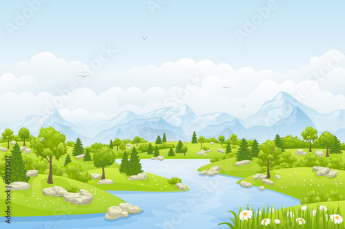 Sommerlandschaft - 59233217