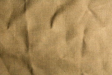 Mint burlap canvas texture for background.