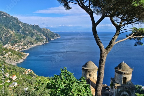 canvas print picture Amalfi Kueste - Amalfi coast 01