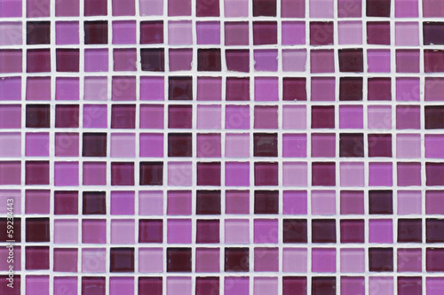 pattern of purple ceramic wall