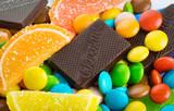 Fototapeta Colorful sweets