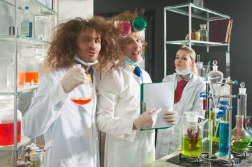 Cheerful chemists