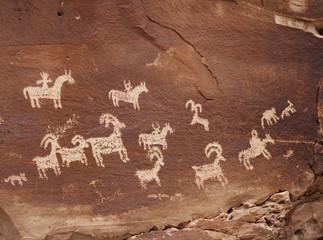 petroglyph USA Indians