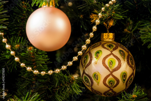 Christmas tree ant balls