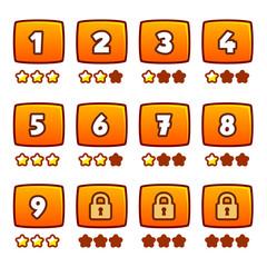 Orange level selection