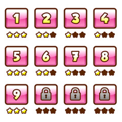 Pink level selection