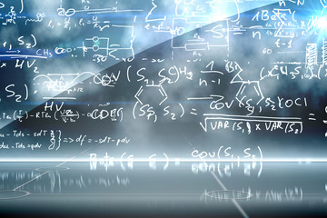 Math equation background