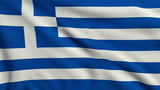 Flag of Greece looping