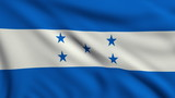 Flag of Honduras looping