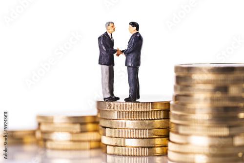 Vertragsabschluss am Finanzmarkt