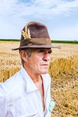 Portrait of a senior farmer