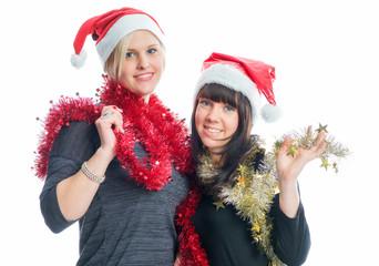 2 Weihnachtsfrauen