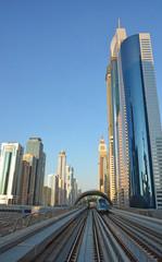 Cityscape, Metro, Dubai