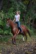 Equestrian romantic adventure