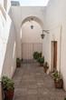 hall inside Santa Catalina monastery Arequipa Peru