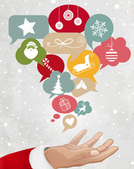 Christmas Icons, Social Network