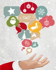 Christmas Icons, Social Network