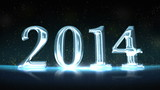 2014 New Year Celebration Background looping