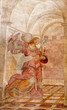 Rome - Archangel Gabriel fresco from Annunciation scene