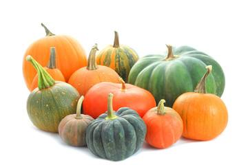 Pumpkins varieties