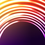 Abstract astral background poster