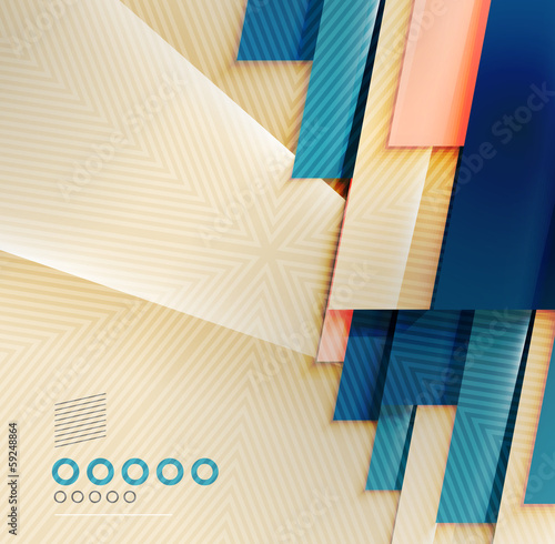 Paper business stripes abstract geometric background