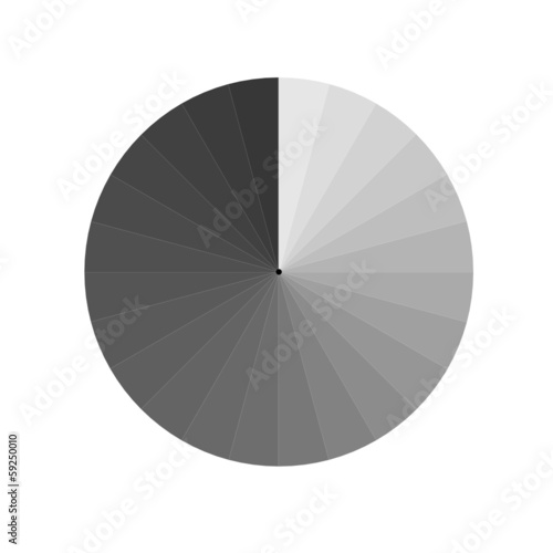 aperture grey vector illustration