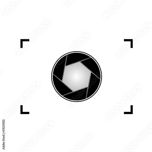 aperture vector illustration