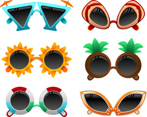 summer sunglasses set 1